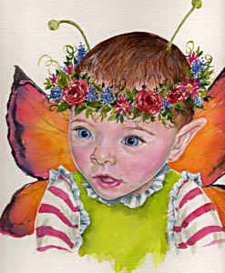 Leandra's fairy portrait