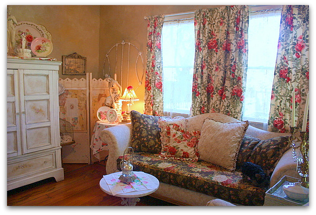 Shabby Chic Living Room Curtains Home Design
