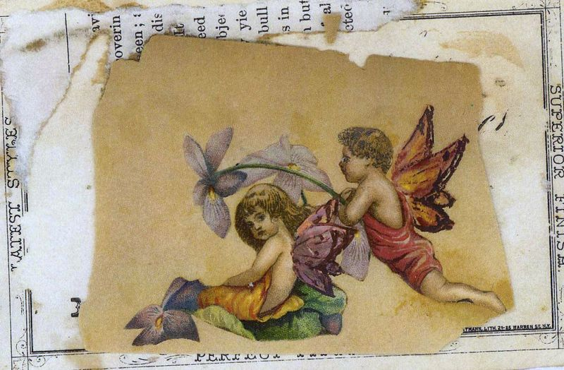 Boy and girl fairies
