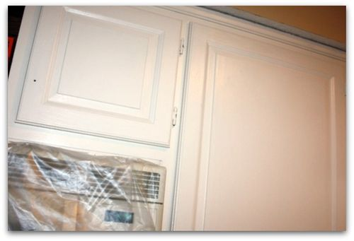 Kitchen Cabinets With No Sanding Stripping Or Even Removing The Doors