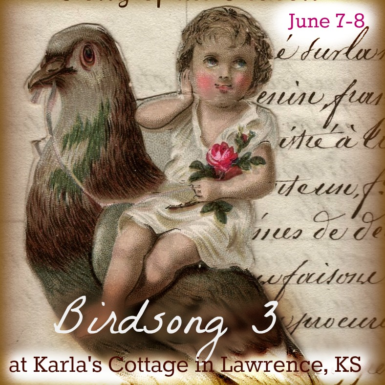 Birdsong 3 at Karla's Cottage