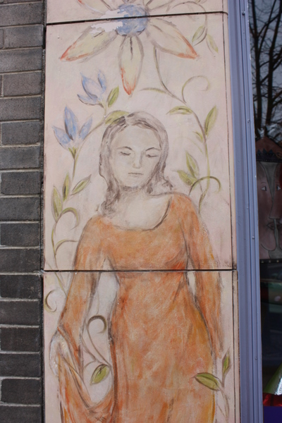 A storefront, downtown Lawrence