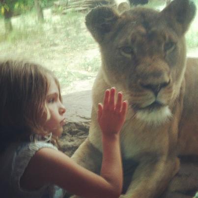 Topeka Zoo, two LEOs
