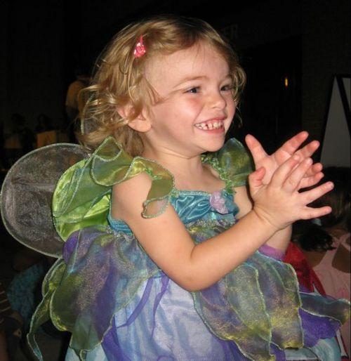 happy fairy girl