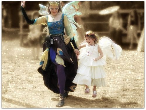 Flying with the fairies