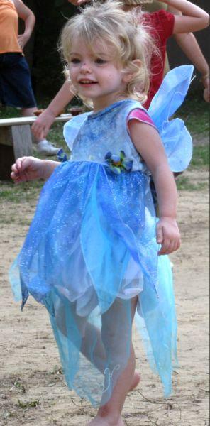 a blue fairy
